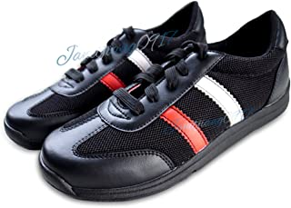 SF Unisex Professional Bowling Shoes with Skidproof Sole Breathable Sneakers for Men Women