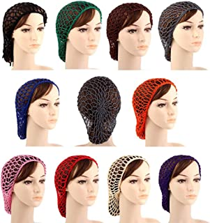 Lady MacSnood hand crocheted basic hair snood-Multiple colors available
