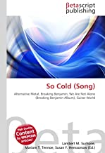 So Cold (Song): Alternative Metal, Breaking Benjamin, We Are Not Alone (Breaking Benjamin Album), Guitar World