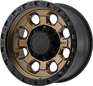 ATX SERIES AX201 MATTE BRONZE W/BLACK LIP AX201 17x9 6x139.70 MATTE BRONZE W/BLACK LIP (-12 mm) RIM