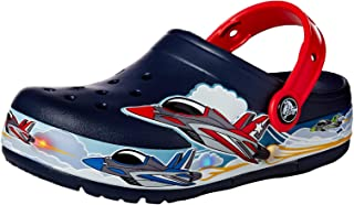 Crocs Kids' Boys and Girls Jets Band Light Up Clog