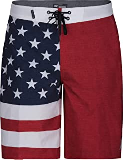Hurley Men's Phantom Patriot Cheers USA Flag 20