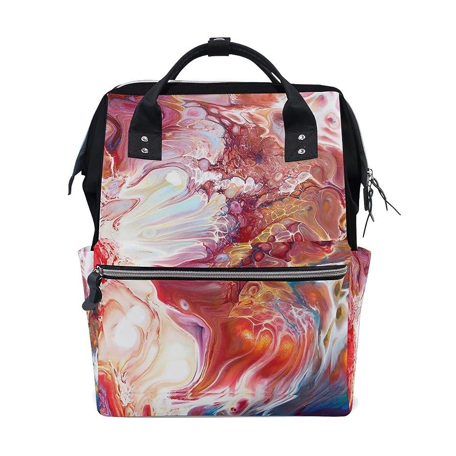 Abstract Art Oil Painting School Backpack Large Capacity Mummy Bags Laptop Handbag Casual Travel Rucksack Satchel For Women Men Adult Teen Children
