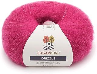 Sugar Bush Yarn Drizzle Fine Weight, Fuchsia Flurry