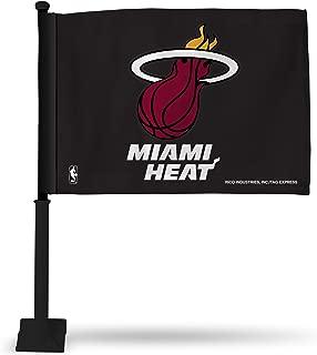 Rico NBA Car Flag with Black Pole (Black)