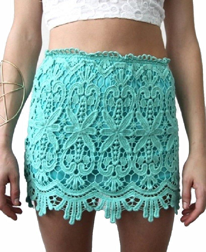 Passion Fusion Women's Sydney Lace Mini Skirt