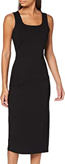 A|X Armani Exchange Women's Heavy Ponte Sheath Dress, Black, X-Small