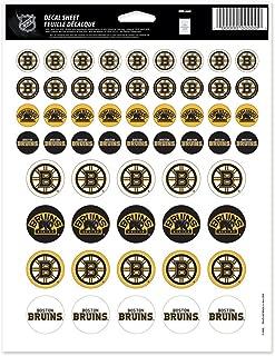WinCraft NHL Boston Bruins Vinyl Sticker Sheet, 8.5