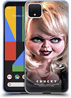 Official Bride of Chucky Tiffany Doll Key Art Soft Gel Case Compatible for Google Pixel 4 XL