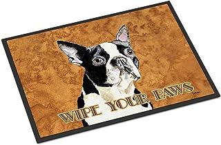 Caroline's Treasures SC9140MAT Boston Terrier Indoor or Outdoor Mat 18x27 Doormat, 18H X 27W, Multicolor