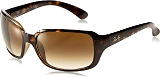 Ray-Ban Women's RB4061 Oval Sunglasses