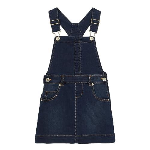 abbe0e3b279 Kids Girls  Blue Denim Dungaree Dress