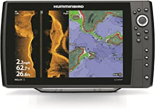 Humminbird 410030-1 Helix 12 Chirp SI 800x1280 DSP Sonar with GPS & Temperature, 12.1