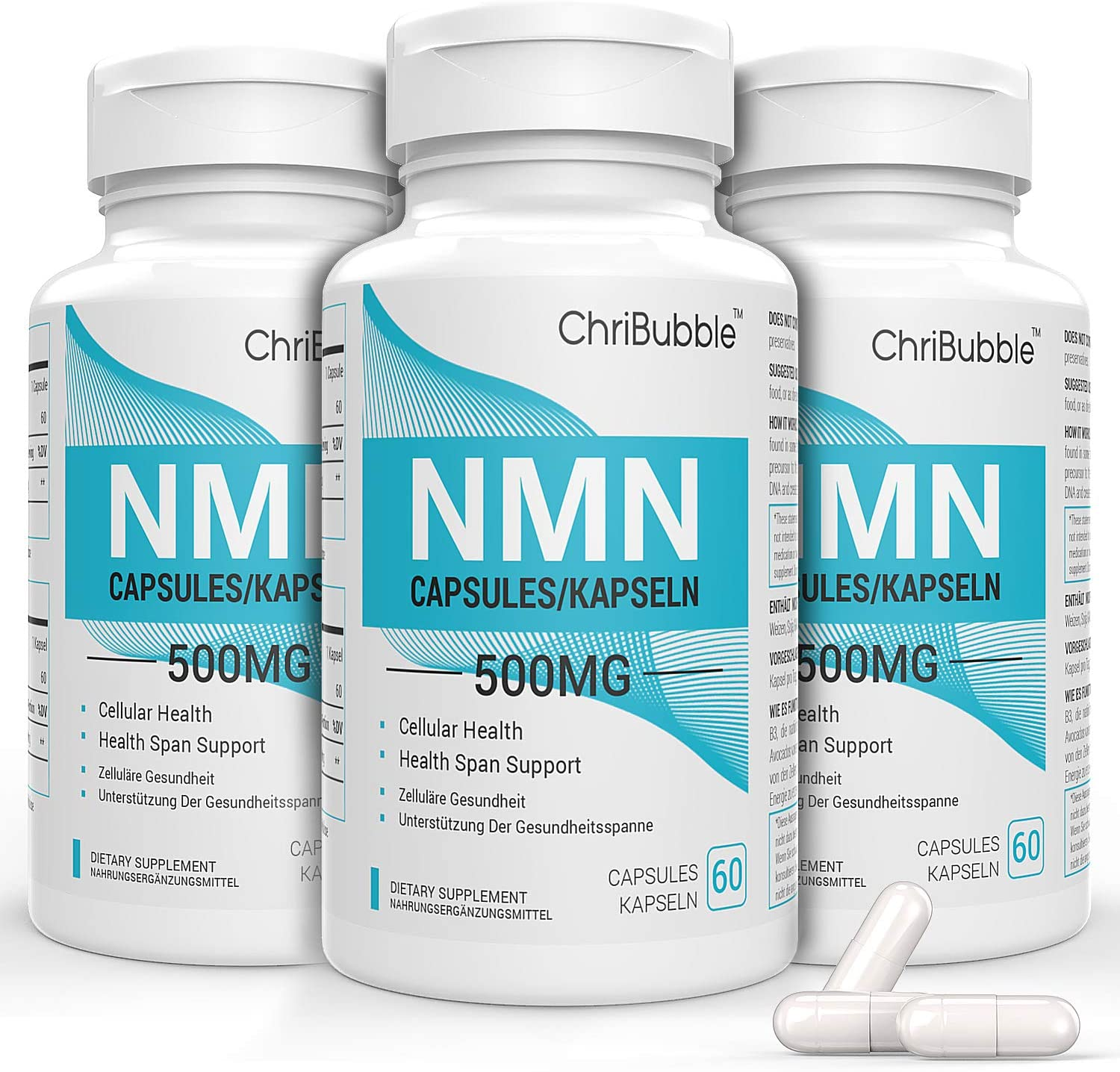 Year-end gift Max 73% OFF NMN Stabilized Form Supplement Energy Supports Longevity NAD