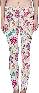LuxSweet Women's Ladies Printed Leggings Soft Stretchy Yoga Pants