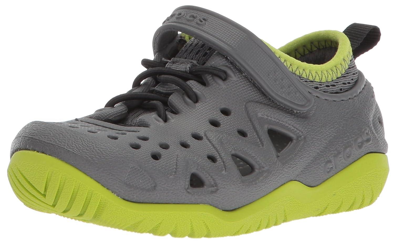 [Crocs] ユニセックス?キッズ Swiftwater Play Shoe K カラー: グレー