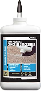 Akona Pourable Gray Concrete Crack Filler - Qt. (6 Pack)