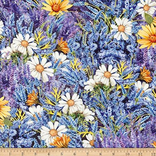 Robert Kaufman Kaufman Everyday Favorites Collage, Yard, Lavender