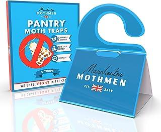 Manchester Mothmen Moth Traps Closet Clothing & Pantry Moth Trap|2 in 1 Moth Killer for Closets & Kitchen | Moth Repella...