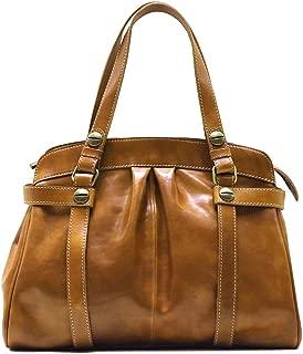 Floto Milano Leather Shoulder Bag