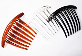 3 PCS FRENCH TWIST HAIR COMB COLER MIX 7 TOOTH IT DELUXE.
