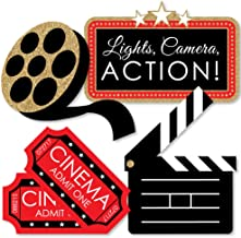 Red Carpet Hollywood – Clapboard, Movie Tickets and Film Reel Decorations DIY Movie..