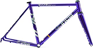 Cinelli Vigorelli Road Steel Frameset Purple Heart Extra Large