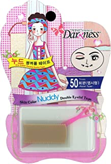 Darkness Skin Color Nuddy Double Eyelid Tape - 50 Point Type