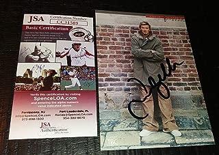 David Beckham Soccer Legend Signed Autographed 4x6 Photo Post Card Rare Coa - JSA Certified - Soccer Cut Signatures