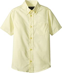 Short Sleeve Oxford Shirt (Little Kids)