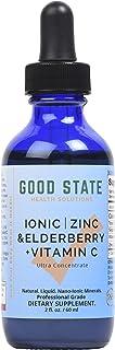 Sponsored Ad - Good State - Ionic Zinc & Elderberry + Vitamin C - 2 oz
