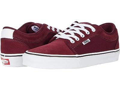 Vans Chukka Low (Port/White) Skate Shoes
