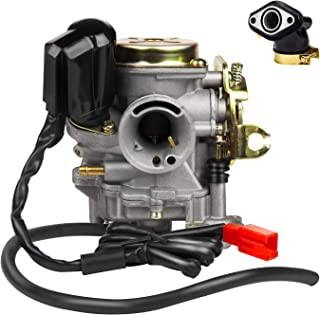 EXLECO 18mm Carburateur Motorfietsen Carburateursystemen Voor Rex RS 400 / RS 450 / RS 460 / GY6 50cc E-Choke / GY6 60cc