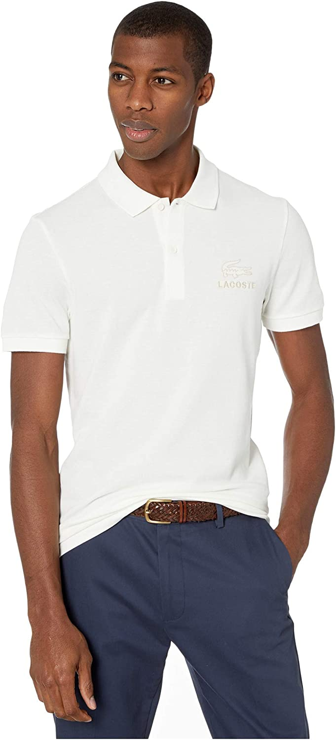 Lacoste Super sale period limited Men's Short Sleeve Regular Pique Fit Shirt Tonal Polo New product type