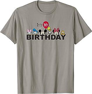 Disney Mickey And Friends Its My Birthday T Shirt