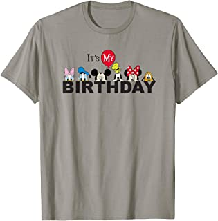 Mickey and Friends It's My Birthday T-Shirt
