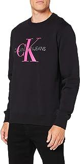Calvin Klein Jeans Men's Monogram Reg Crew Neck Sweater