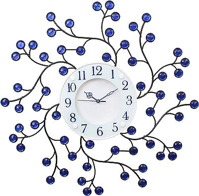 Chronikle White Dial Round Diamond Rott Iron Wall Clock 58 * 58 cm