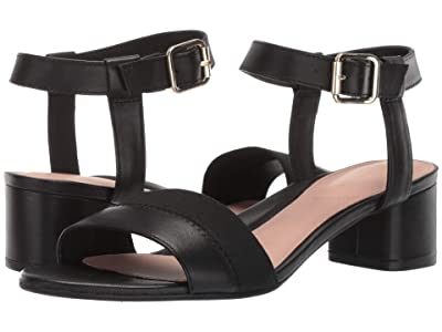 Taryn Rose Makena (Black Leather) Women