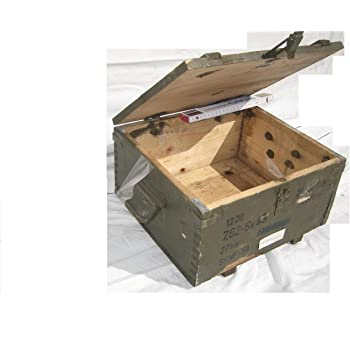 Unbekannt Caja de Madera Rusia Militar Caja para Granada de Mano ...