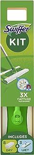 Swiffer sopmaskin våta/torra torkdukar för golv/parkettstartsats – paket med 3