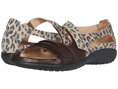 Naot Papaki (Soft Brown Leather/Cheetah Suede) Women