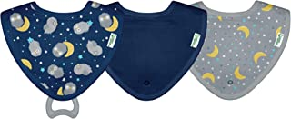 green sprouts Muslin Stay-dry Bandana Teether Bibs made from Organic Cotton