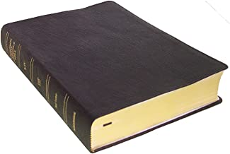 KJV - Black Genuine Leather - Large Print - Thompson Chain Reference Bible (015140)