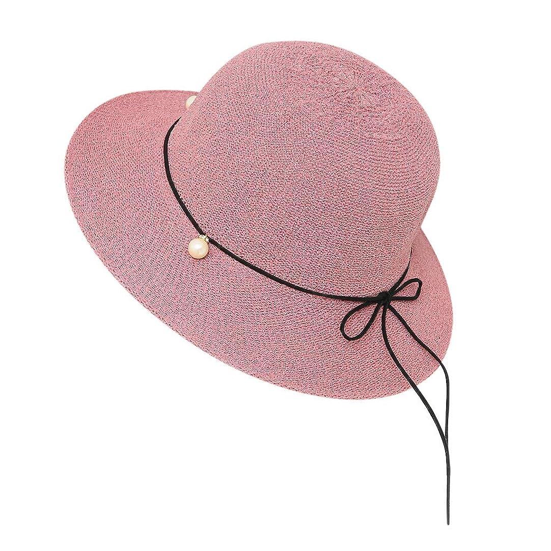 個人的な干し草発行する帽子 レディース 夏 女性 UVカット 帽子 ハット 漁師帽 つば広 吸汗通気 紫外線対策 大きいサイズ 日焼け防止 サイズ調節 ベレー帽 帽子 レディース ビーチ 海辺 森ガール 女優帽 日よけ ROSE ROMAN