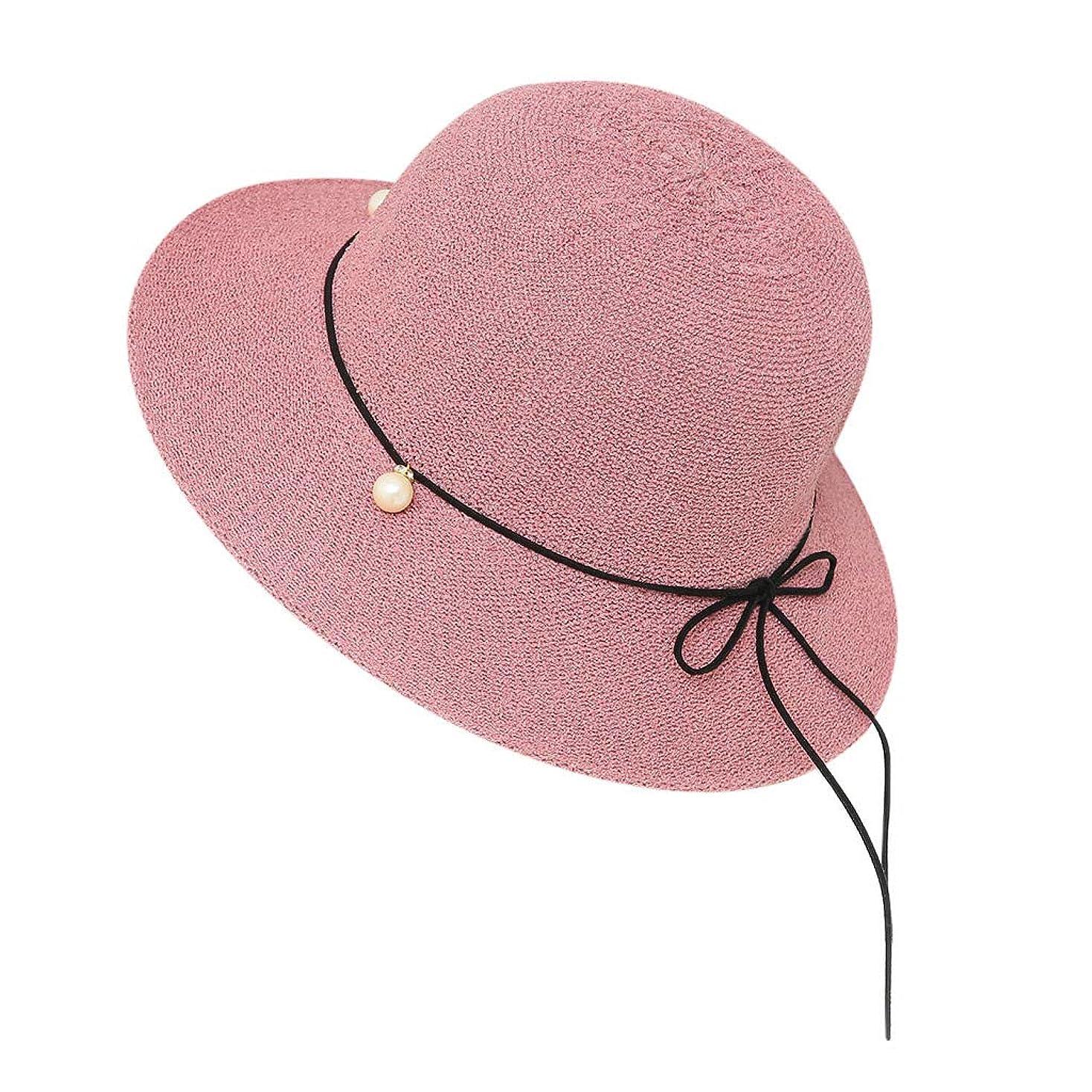 連合百年四半期帽子 レディース 夏 女性 UVカット 帽子 ハット 漁師帽 つば広 吸汗通気 紫外線対策 大きいサイズ 日焼け防止 サイズ調節 ベレー帽 帽子 レディース ビーチ 海辺 森ガール 女優帽 日よけ ROSE ROMAN