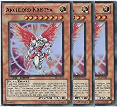 Yu Gi Oh TRC1-JP014 ARCHLORD Kristya Super Collectors Secret Rare Japan Mint