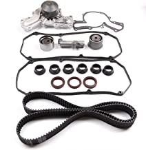 ECCPP Replacement fit for Timing Belt Water Pump Kit Valve Cover 01-06 Mitsubishi Montero 3.5L SOHC 6G74