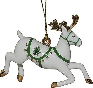 Spode Christmas Tree Ornament, Reindeer