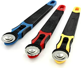 Cassie Brown Rotary Cutters, Set Of 3, Multi-color